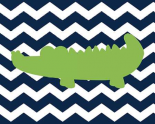Chevron Alligator II