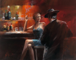 Evening in the Bar II - Willem Haenraets