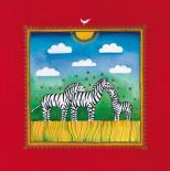 Three little zebras