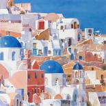 Santorini Watercolor II