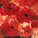 Abstract Flowers I - Jettie Roseboom