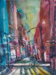 New York Aquarel I - Andreas Mattern