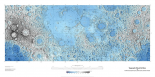 Decorative Topographic Map of the Moon, Projection