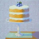 Blueberry Cream Torte