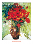 Vase avec marguerite