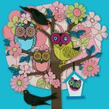 Summer Owl Tree