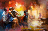At the bar - Willem Haenraets