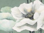 Poppy in Green II - Jettie Roseboom
