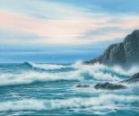 Atlantic Breakers on Cornish Coast