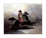 Nubian Horseman at a Gallop