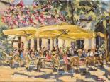 Market terrace - Nicole Laceur