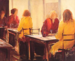 A good conversation II - Jettie Roseboom