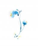 One Blue Flower II