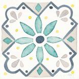 Garden Getaway Tile V White
