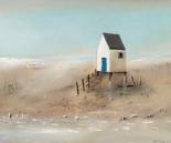 Beach cabins II - Jean Jauneau