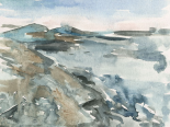 Watercolor Views IV