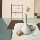 Still Life In Grey IV - Franz Heigl