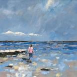 Walking in water - Nicole Laceur