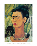 Self Portrait with Monkey, 1938