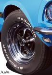 MACH I Blue Detail