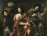 Jesus Insulted By The Soldiers