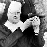 Nun with Pellet Gun 1965