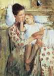 Mother And Child 1890