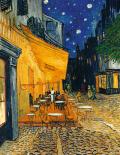 Café Terrasse am Abend