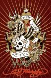 Ed Hardy - new york city skull