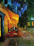 The Cafe Terrace on the Place du Forum, Arles, at night