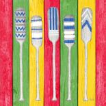 Oars on Tropical Board II