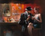 Evening in the Bar I - Willem Haenraets