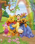 Winnie The Pooh - Group