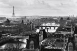 Paris View - b&w