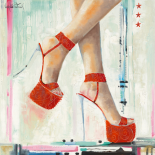 Marilyn´s Shoes I