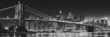 New York - Brooklyn Bridge B/w