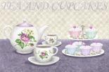 Tea and cupcakes - Linda Wood