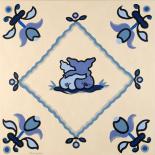 Delft blue pigs I