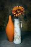 Orange Vase with Pitcher III