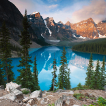 West Alberta - Moraine Lake