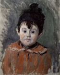Michel Monet in a Pompom Hat, 1880