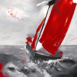 Voile rouge
