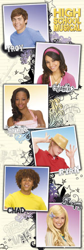 High School Musical - Characters