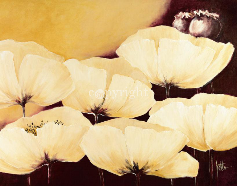 Yellow Poppies II
