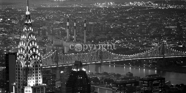 Chrysler Building and Queensboro Bridge