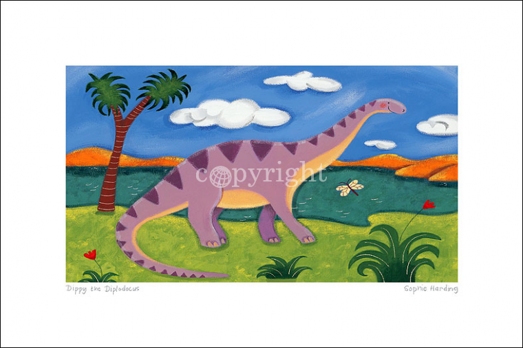 Dippy the Diplodocus